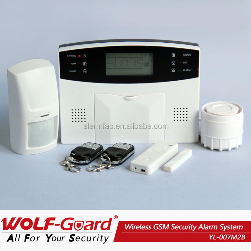 English / Russian / Spanish / Italian / French / Polish / German Intelligent gsm home alarm systems