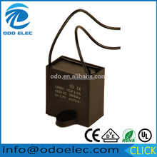 wholesale 12uf 450v cbb61ac motor run capacitor double wire for fan