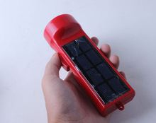 Led dynamo rechargeable flashlight ,H0T160 solar mini led torch with charger , bright light flashlight torch