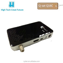 mini hd fta receiver model q-sat Q16C hd satellite receiver for africa