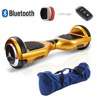2 Wheel Hoverboard with Bluetooth Self Balancing Scooter Case Cover, 2016 Most Popular 6.5 Inch Smart Electric Scooter