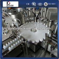 automatic small liquid bottle filling machine