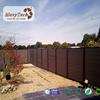 WPC Material Wood Composite Fence for Garden