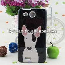 water transfer process image printed phone case for Alcatel One Touch Idol Ultra OT 6033