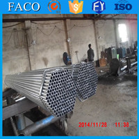 steel structure building materials ! galvanized tube measures shelf erw water steel pipe pre-galvanized