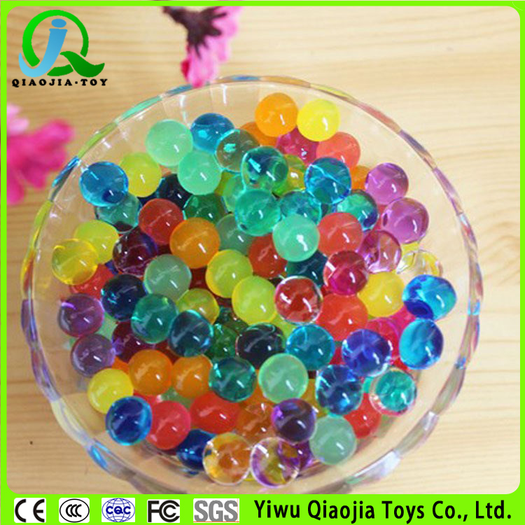 hot sales different size colourful magic water gel beads yiwu factory sales