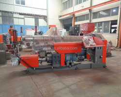 Plastic recycling plant and pet recycling machine
