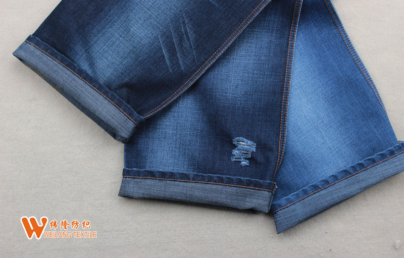 A355-A Cotton Spandex Overdyed Denim Fabric