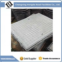 Cover size 1000X800mm En124 composite Manhole Cover