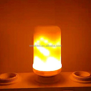 LED Light Source Warm White 5w led flame light bulb B22 flicker flame candle light
