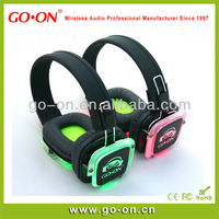 night club fashion design headphones with LED light and high performance