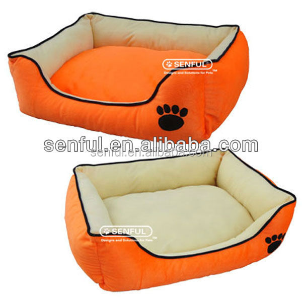 Hot selling pet products Square Soft Pet Bed Dog Bed