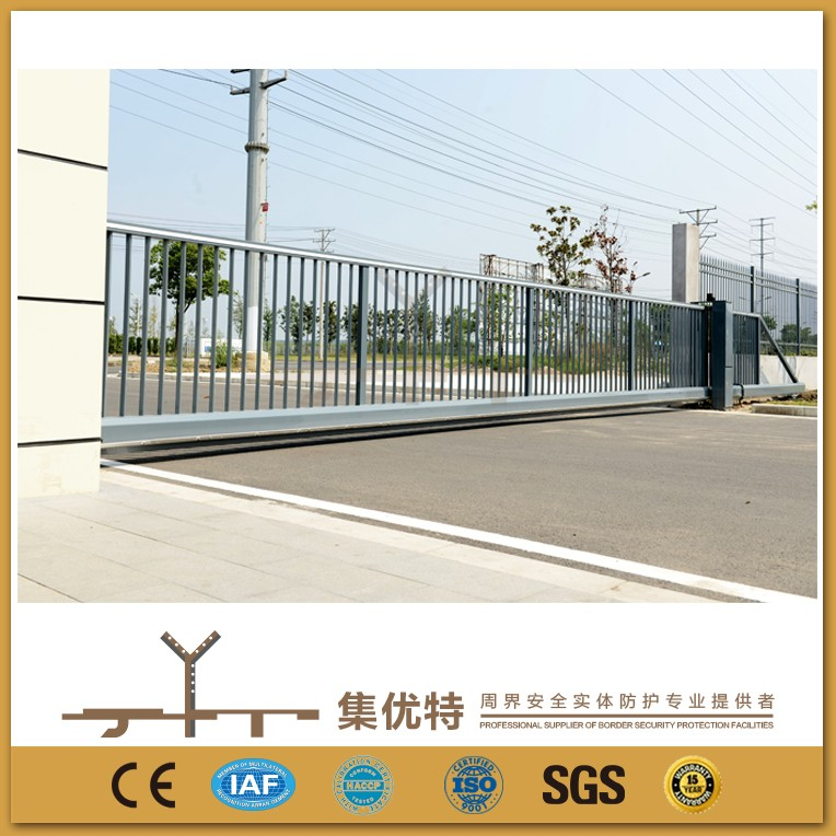New style applied for factory automatic electric sliding entrance gate design