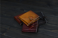 Portable Small Wallet,Retro Leather Wallet
