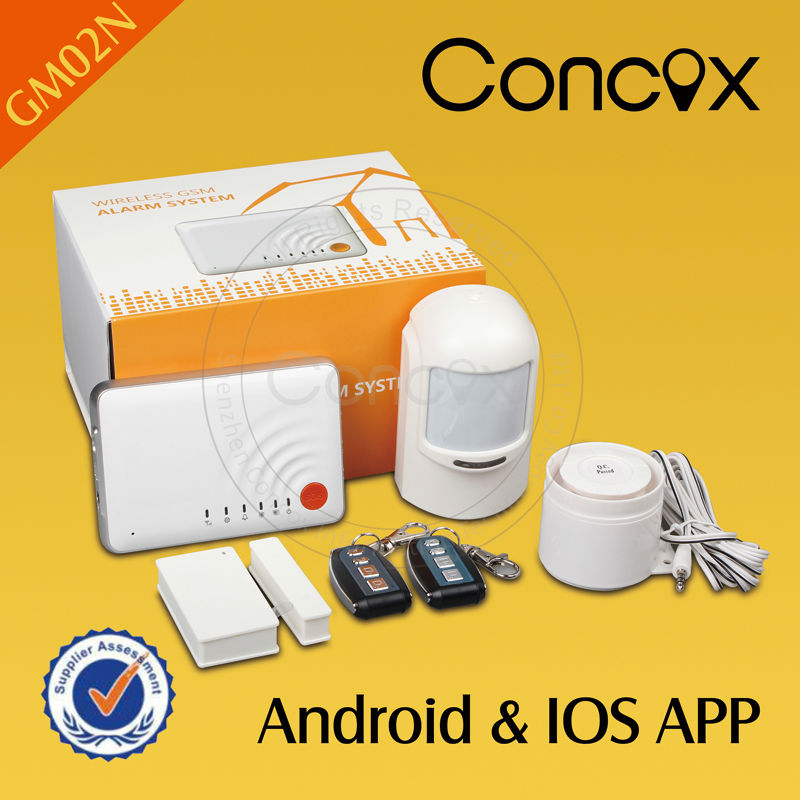 Intelligent home system/Smart Home automation system for apartment/villa GM02N with ios controlled electronics