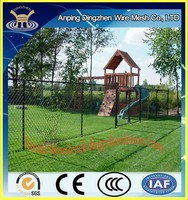 Competitive Price and High Quality Chain Link Fence&DZ Hot Dipped Galvanized Chain Link Fence&Cheap Garden Used Chain Link Fence