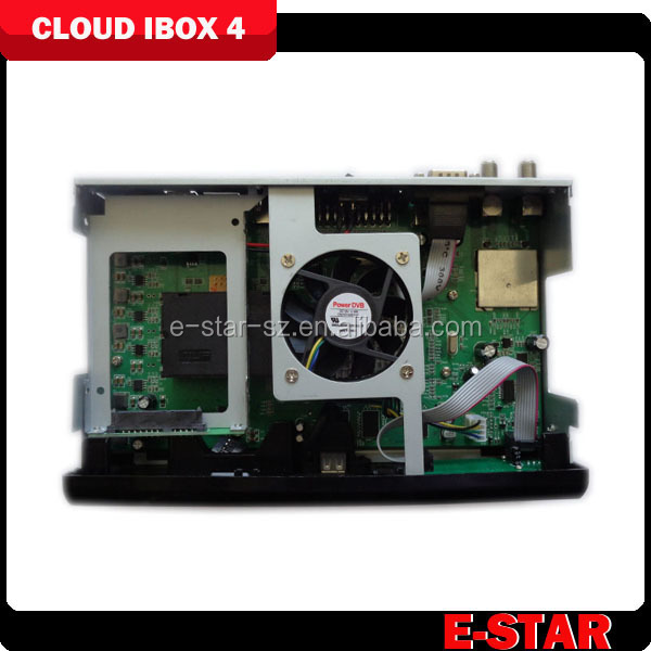 2014 Wholesale Cloud ibox 4 with twin tuner cloud ibox 3 support VU DUO