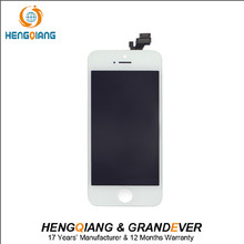 Mobile phone spare parts lcd for iPhone 5 display screen replacement