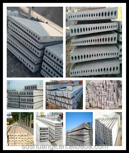 Beautiful Prestressed Cornice Slab Forming Machine/precast Beton Slab Machine For Sale