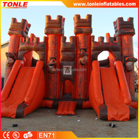 Fun Fort inflatable bouncy castle combo/ inflatable bounce area/ jumper for sale