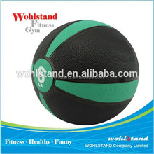 Chinese Crossfit Rubber Material Two Color Bouncing Medicine Ball