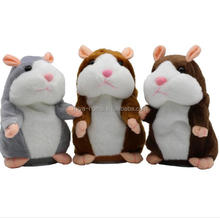 New design Talking Hamster Mouse Pet Plush Toy / Cute Speak Talking Sound Record Hamster / Educational Toy for Children Gift