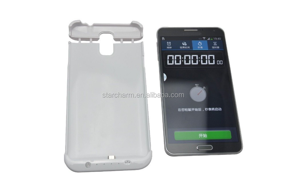 oem china manufacturer ultra thin power bank case for samsung galaxy note3 N9000