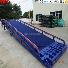 Mobile Hydraulic Yard Ramp New Dock Ramp for Container Warehouse 6ton