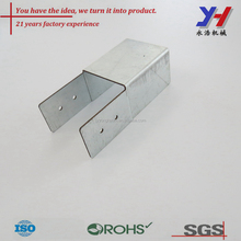 Custom made steel BBQ frame connecting piece