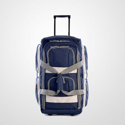 "Trolley Bag Luggage 22"" 8 Pocket Rolling Duffel Bag"