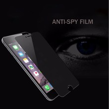 Itop Manufacturer Anti Spy Privacy Tempered Glass Screen Protector For iPhone 6 plus