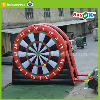 inflatable dart board sport games dart board game for adult