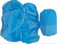 Good quality skidproof blue nonwoven PP disposable running shoe cover
