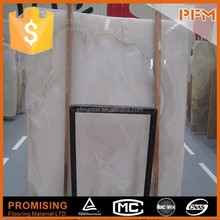New China lady onyx burma white onyx stone marble slabs subway tile