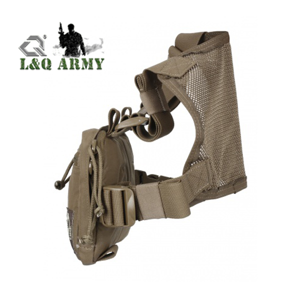 New Tactical Combat Chest Rig Bag KIT BAG COYOTE