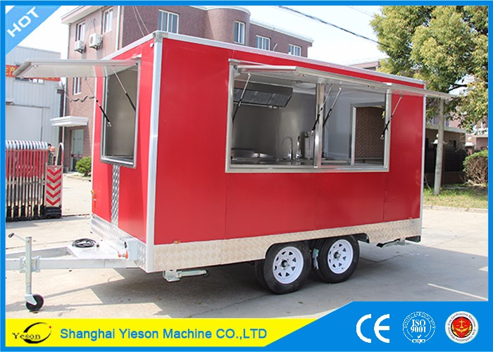 YS-FB200B Roomy Wide High Quality Mobile Food Trailer