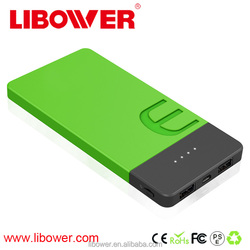China factory OEM/ODM customized 5000mAh universal portable mobile POWER BANK with LED indicator, powerbank for all smart phones