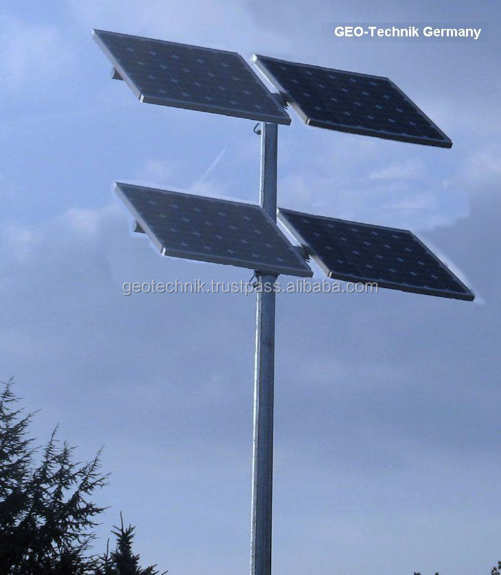 Solar power supply set for telecommunication made in Germany