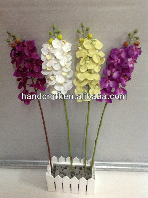 artificial flowers butterfly wedding orchid with long stem