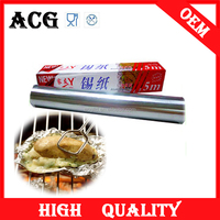 Food Aluminium Foil Roll for Food Household Kitchen Usage tin foil roll