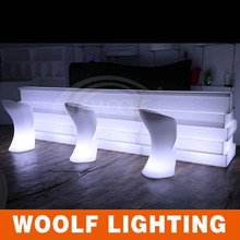 modern small led home bar counter design