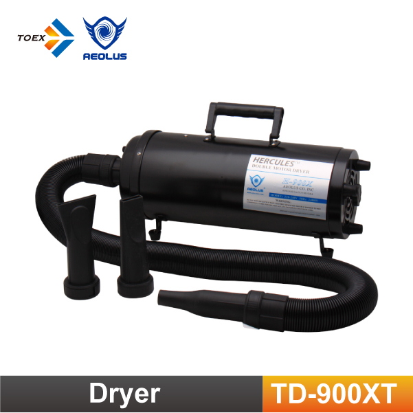 TD-900XT HERCULES Dual Motor Pet Hair Dryer Air Force Dryers Dog Dryer