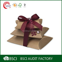 Plain high quality large pillow boxes wholesale in shanghai