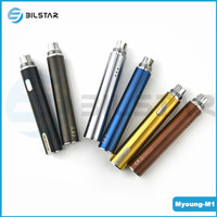 2015 new product Bilstar 5pin usb passthrough LED battery 650mah Myoung ego battery new ecig mod
