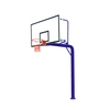 Outdoor school inground basketball stand lightweight basketball hoops