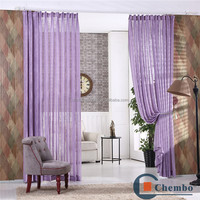 High grade linen fabric mosquito net door curtain