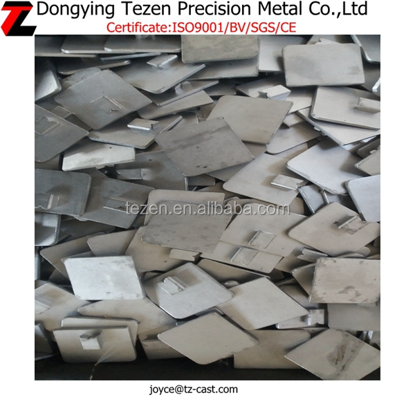 OEM 316 stainless steel china precision cast auto spare part/Precision cast connecting corner parts