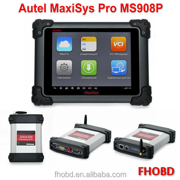 Latest AUTEL MaxiSys 908 Pro with J2534 ECU Preprogramming Smart and Fastest auto diagnostic tool