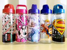 Clear Plastic Water Bottle Pringting Customed Picture Sale Plastic Water Bottle
