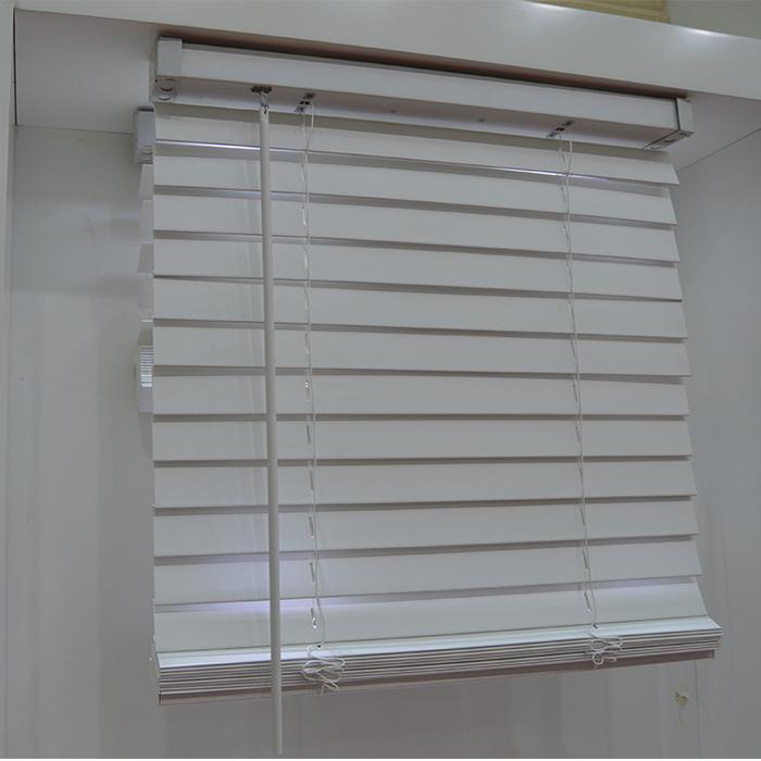 Type Of Office Window Curtain 50mm Cordless Classic Pvc Faux Wood  Horizontal Window Venetian Blinds   Buy Faux Wood Pvc Vertical Window  Blinds,Pvc Vertical ...
